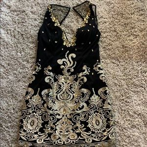 Jovan sexy wedding prom dress New Years formal 14